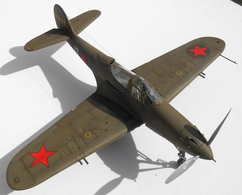 1/48 Eduard Profipack P-39K-1-BE Dmitri B. Glinka 0213