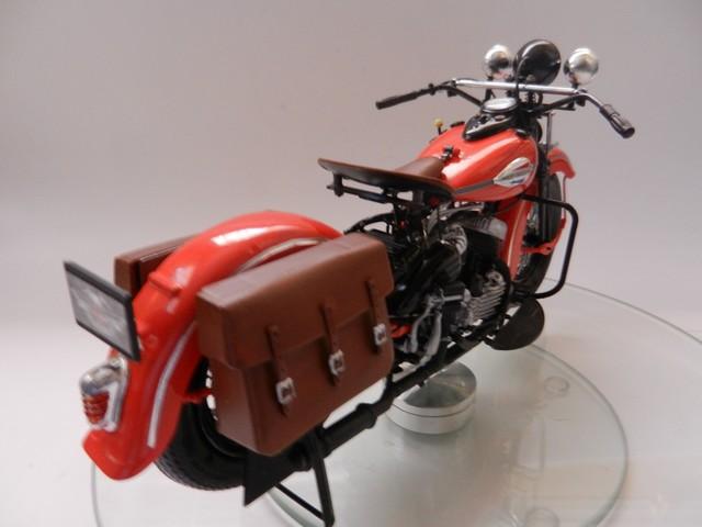 Moto Harley-Davidson WLA45 02312
