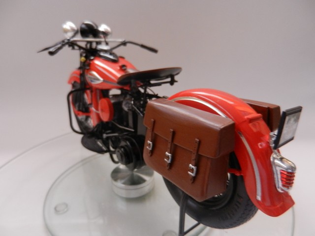 Moto Harley-Davidson WLA45 02412