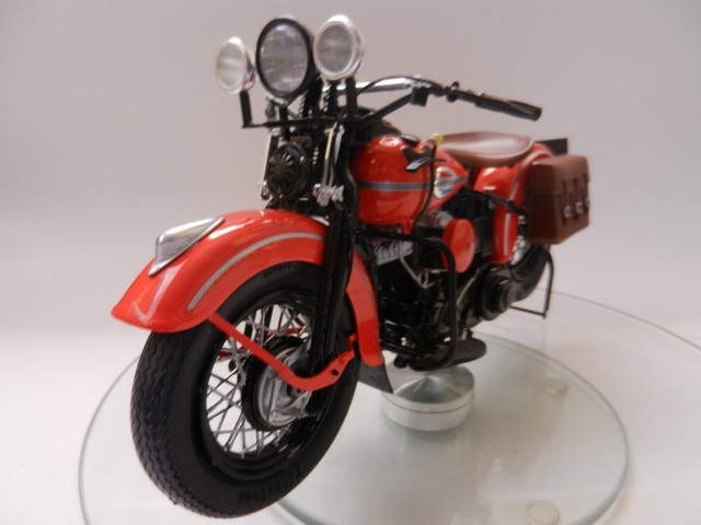 Moto Harley-Davidson WLA45 02617