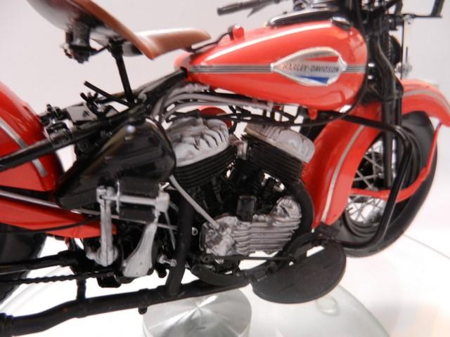 Moto Harley-Davidson WLA45 02717