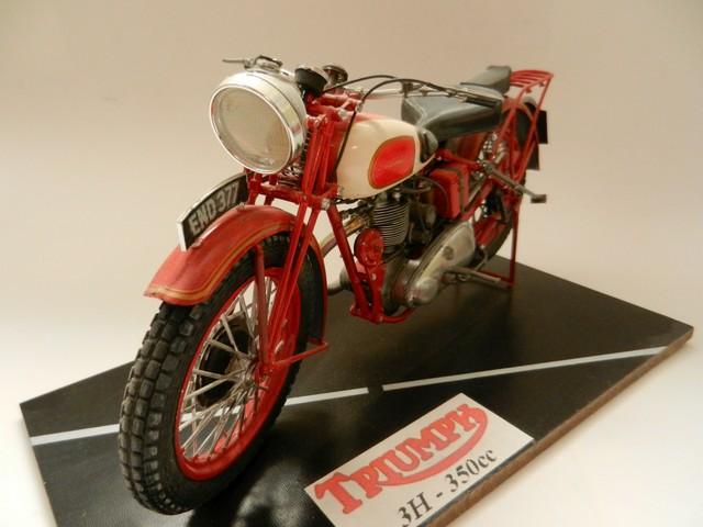 Moto Triumph 3H-350CC - ESCI 1:9 02718