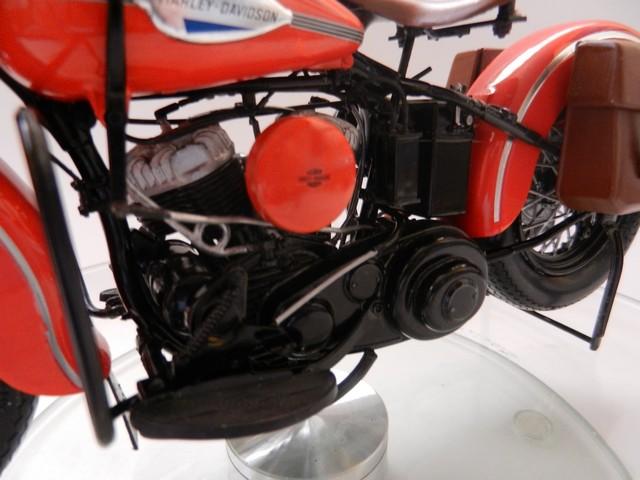 Moto Harley-Davidson WLA45 02817