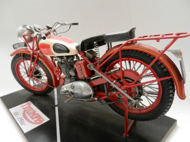 Moto Triumph 3H-350CC - ESCI 1:9 02818