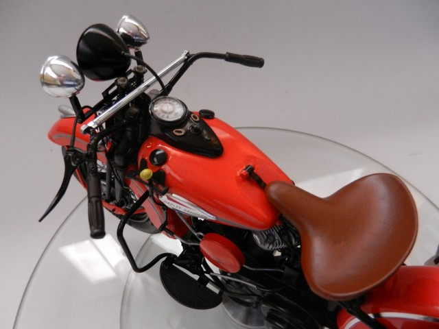 Moto Harley-Davidson WLA45 02917