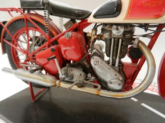 Moto Triumph 3H-350CC - ESCI 1:9 03115