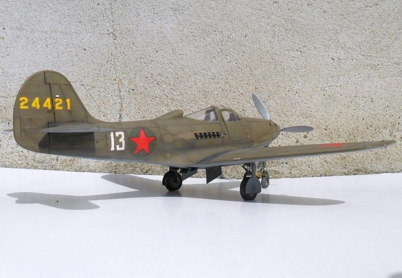 1/48 Eduard Profipack P-39K-1-BE Dmitri B. Glinka 0312