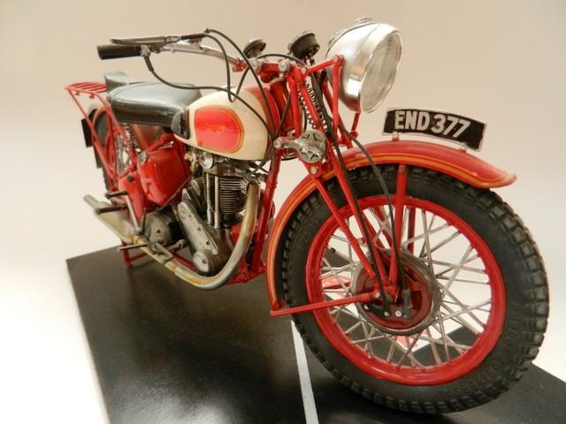 Moto Triumph 3H-350CC - ESCI 1:9 03215