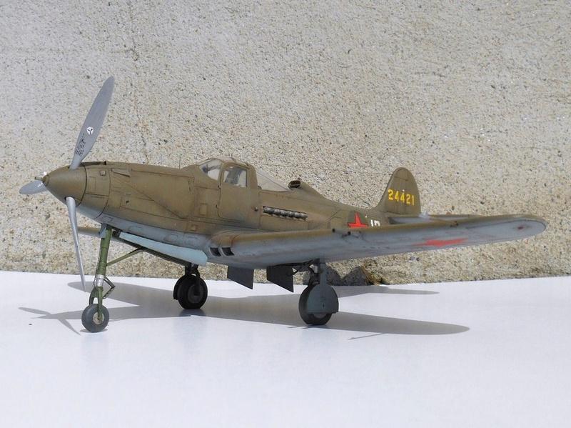 1/48 Eduard Profipack P-39K-1-BE Dmitri B. Glinka 0412