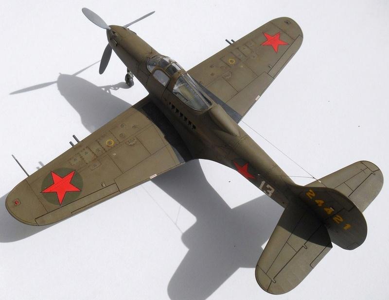 1/48 Eduard Profipack P-39K-1-BE Dmitri B. Glinka 0512