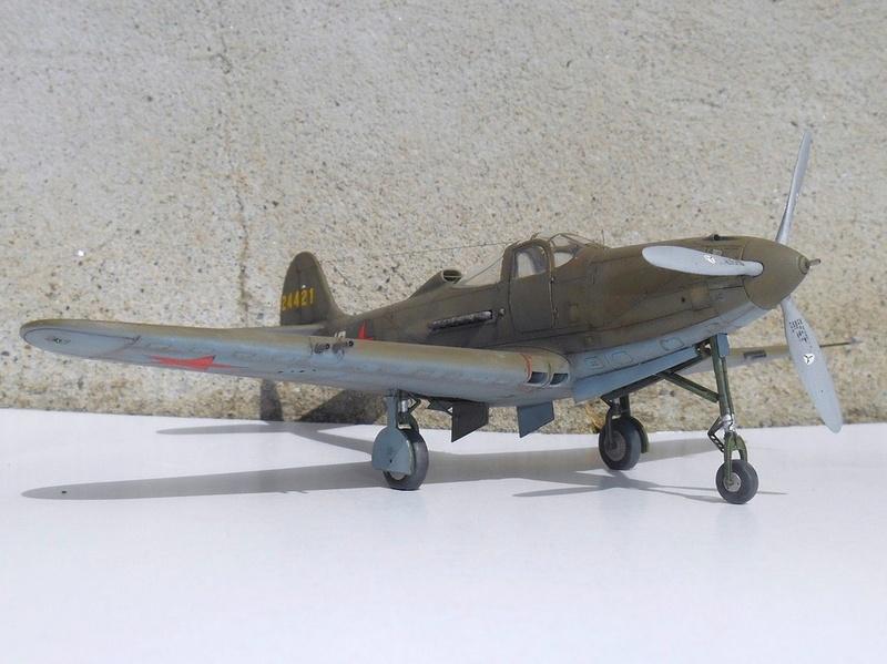 1/48 Eduard Profipack P-39K-1-BE Dmitri B. Glinka 0612