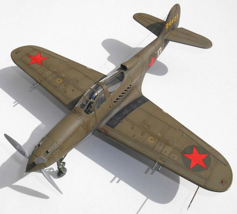 1/48 Eduard Profipack P-39K-1-BE Dmitri B. Glinka 0711