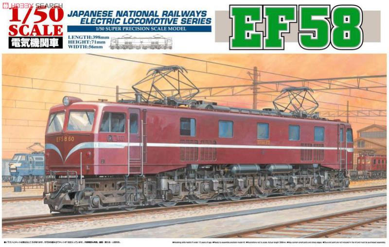 Locomotive électrique EF58 Chemin de fer National Japonais 10242410