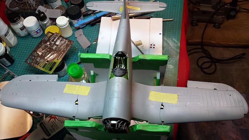 "Tamiya 1/32 F4U-1A: Lt P. Whiting ""Luscious Lil-Nan 1112"
