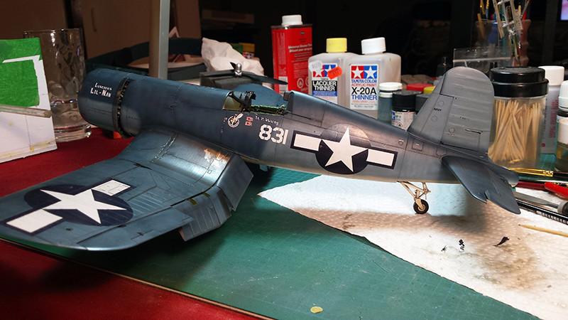 "Tamiya 1/32 F4U-1A: Lt P. Whiting ""Luscious Lil-Nan 1510"