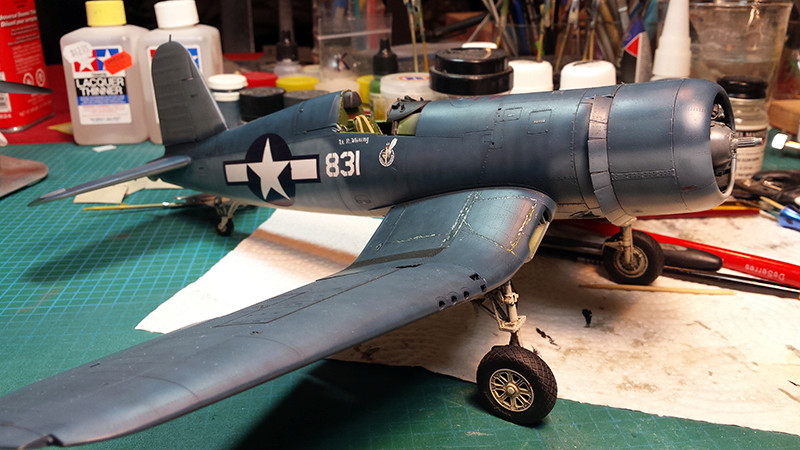 "Tamiya 1/32 F4U-1A: Lt P. Whiting ""Luscious Lil-Nan 1610"