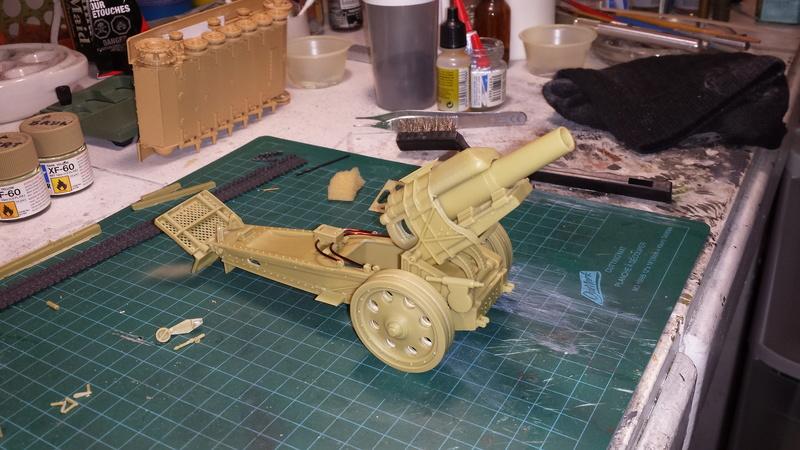 Mortier, 21 cm (Verlinden, 1/35): Début de mon nouveau projet!!! - Page 2 20160715