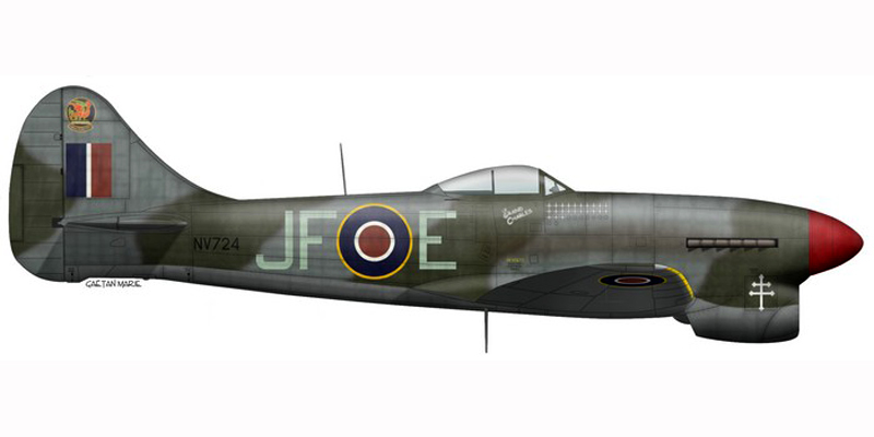 Hawker Tempest MkV Artwor12