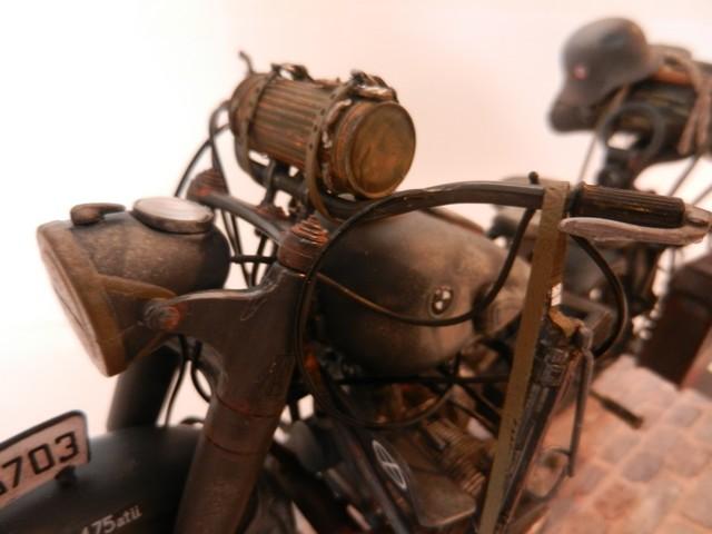 Moto BMW R/75 Solo Wehrmacht Division Infanterie Dscn4617