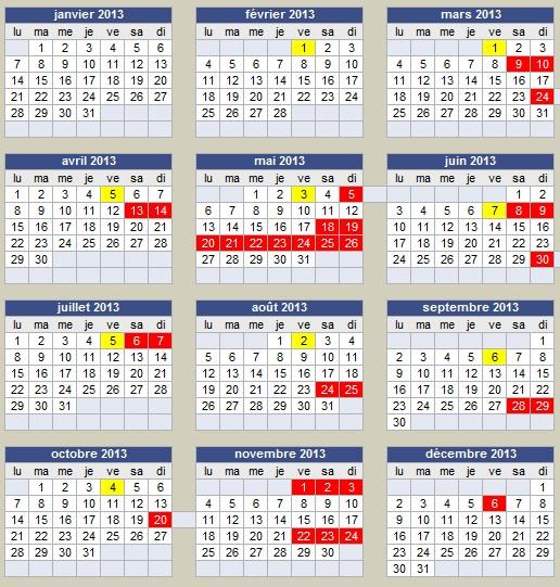 TOUTES LES BALADES PROGRAMMEES EN 2013 Calend10