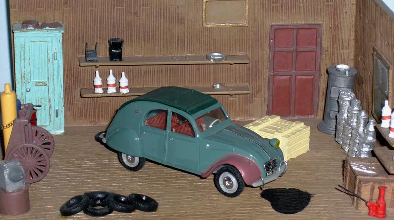 recensement coffret Norev-Auchan 1998 Garage11