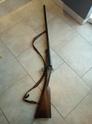 un vieux fusil de chasse acier lebel P7090813