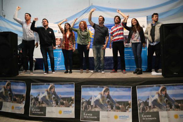 Nardini y Sujarchuk acompañaron el lanzamiento de Unidad Ciudadana en Tigre 00143