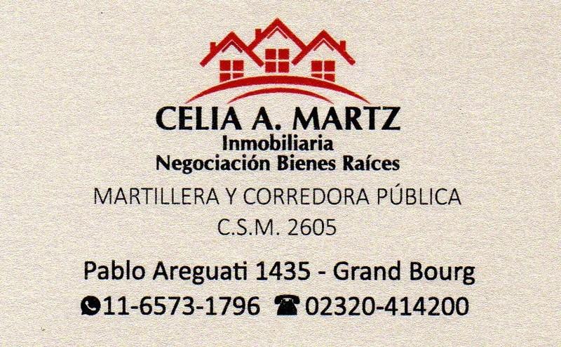 bourg - Grand Bourg tiene el mejor servicio... Inmobiliaria Celia A. Martz... consulte... Aviso_43
