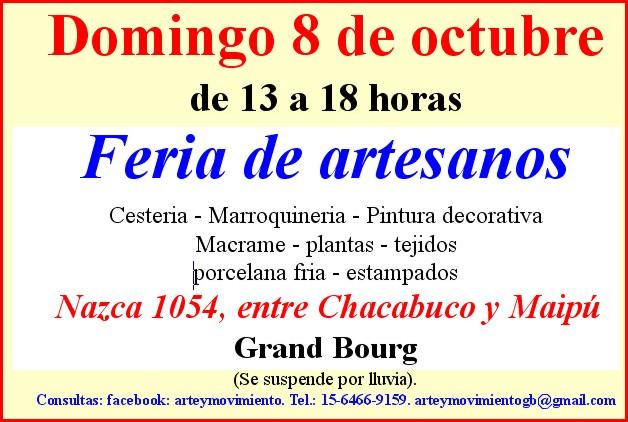 bourg - Grand Bourg: Imperdible... domingo 8 de octubre. Aviso_56