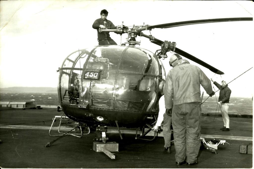 [Aéronavale divers] Alouette 3 - Page 8 Accide11