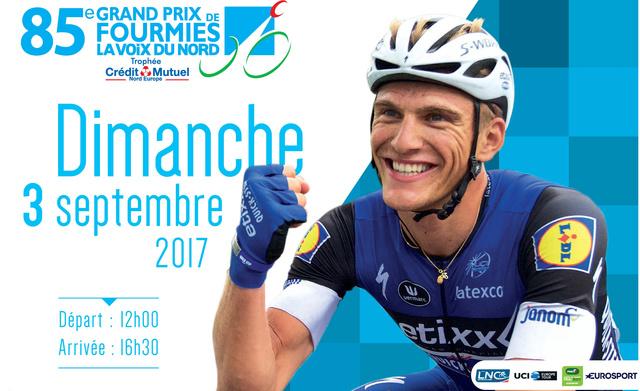 GP DE FOURMIES  -- F --  03.09.2017 Affich11