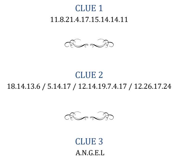 Enigma 947.01 - résolue : LET IT BE 2017-013