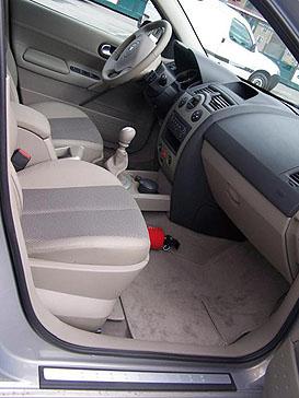 intérieur Mégane 2 Chc91_68