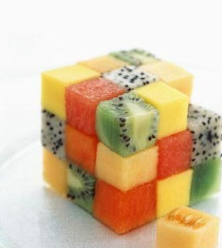 La cuisine au Rubik's Cube Cube_f10