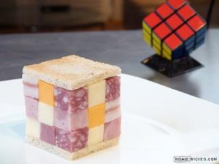 La cuisine au Rubik's Cube Cube_s10