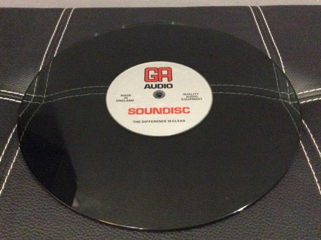 GA audio platter/ glass mat Image21