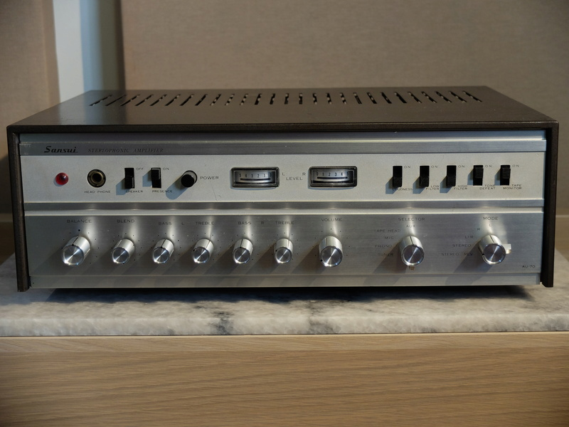 Sansui AU70 integrated amp Dscf7817