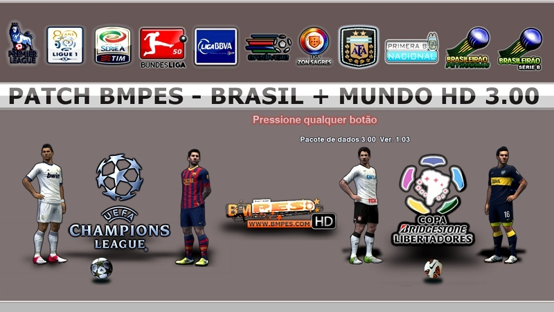 PATCH BRASIL + MUNDO HD - PES 2013 ( PC )  Menu_010