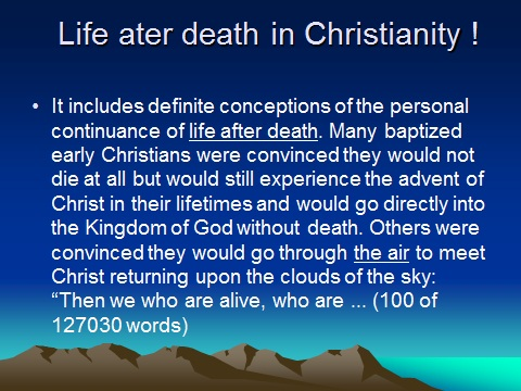 """The concept of """"LIFE AFTER DEATH'' in Islam 712"""