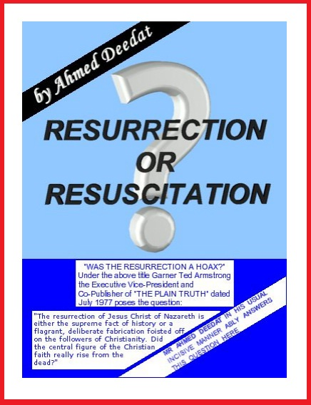Resurrection or Resuscitation? P10