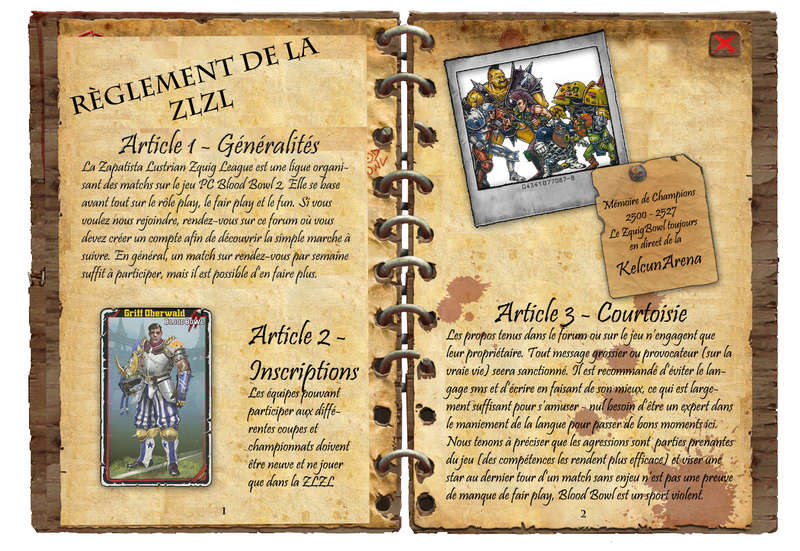 RÈGLEMENT & CHARTE DE LA ZL² Ryglem23