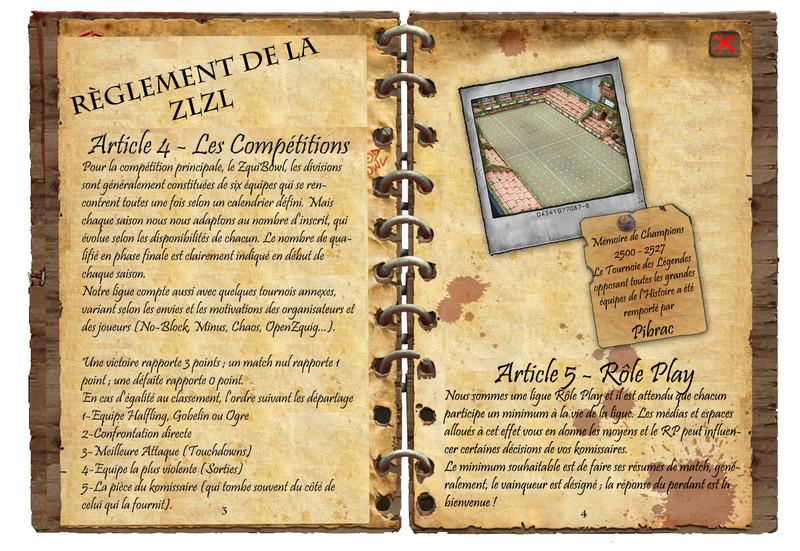 RÈGLEMENT & CHARTE DE LA ZL² Ryglem24