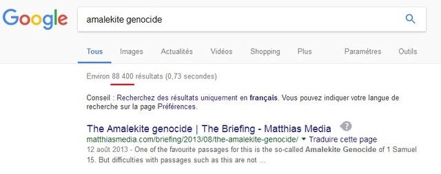 Le génocide amalékite ? Ag11
