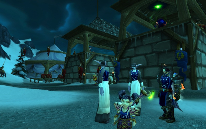 Whitestar Snapshots book (WOW RP screenshots) Wowscr71