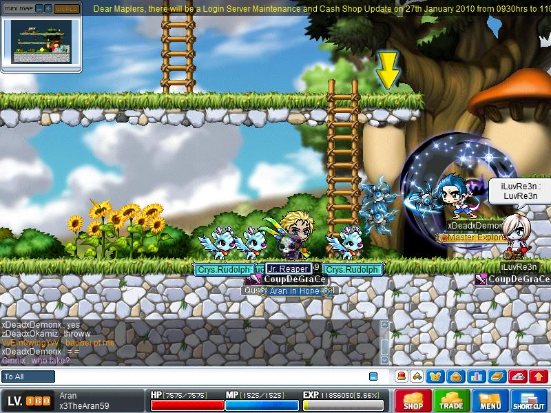 Magic Throwing Knife in MapleSEA Maple028