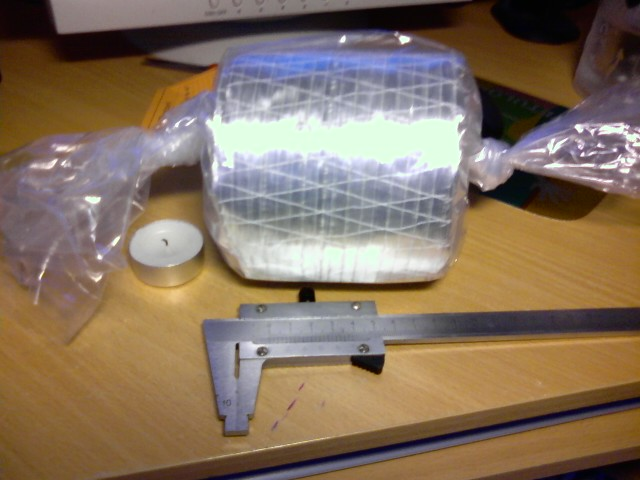 Pressing All-fiberglass crossbow limbs 0010