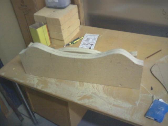 Pressing All-fiberglass crossbow limbs 210
