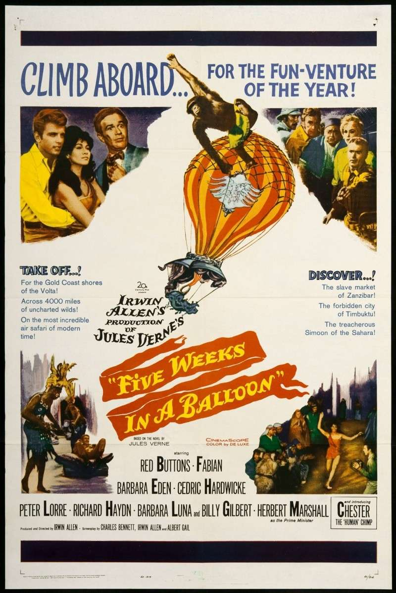 Pet Nedelja U Balonu (Five Weeks in a Balloon) (1962) 13171110