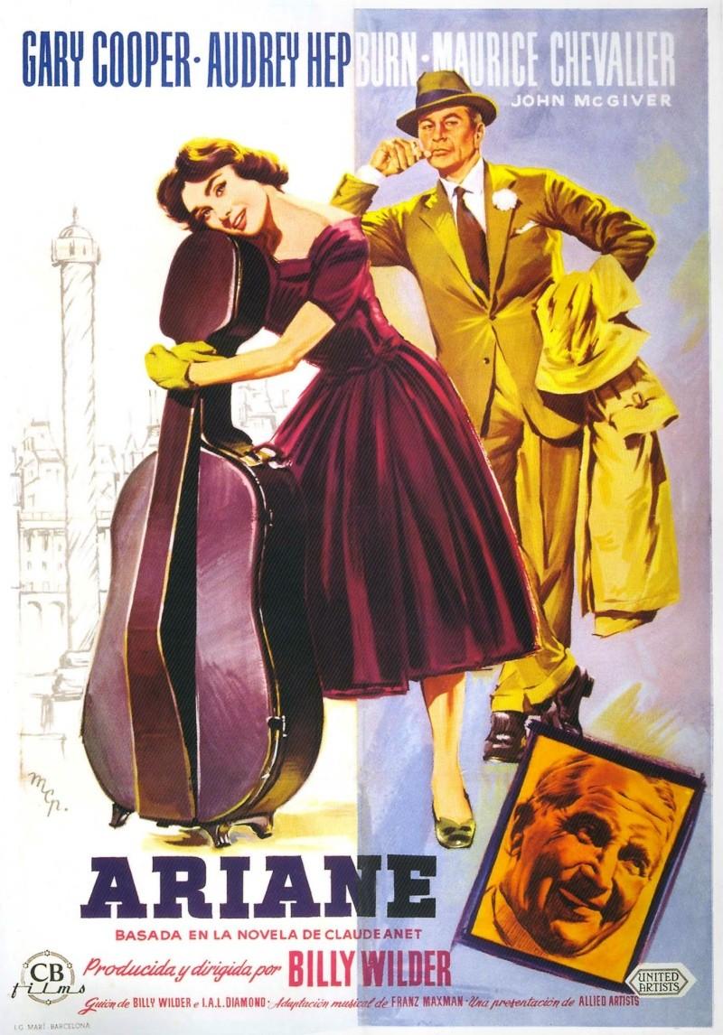 Ariane (Ljubav Posle Podne) (Love in the Afternoon) (1957) Ariane10