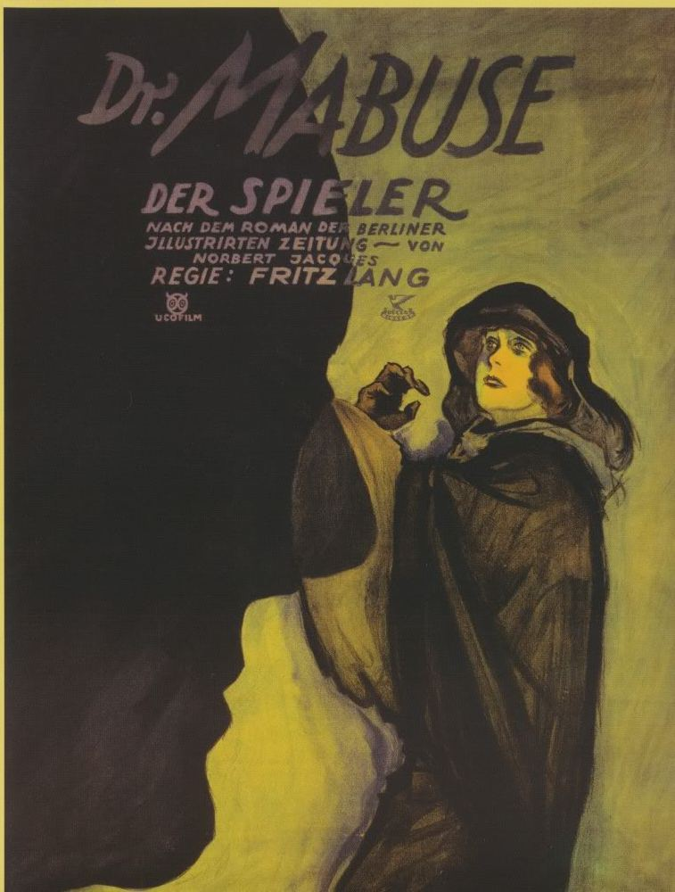 Dr. Mabuze, Kockar (Dr. Mabuse, Der Spieler) (The Gambler) (1922) Mabusp10